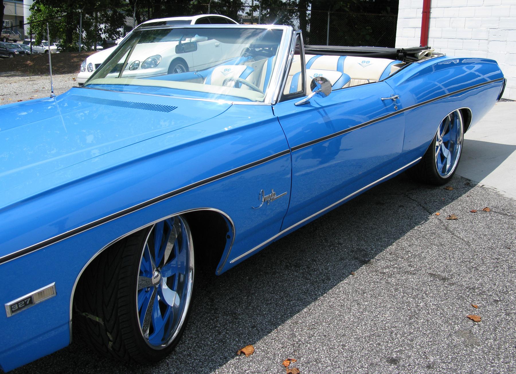 Josh Smith 68 Impala Celebrity Carz