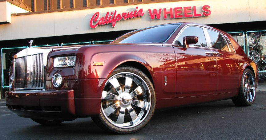 Stephen Jackson Rolls Royce Phantom Celebrity Carz