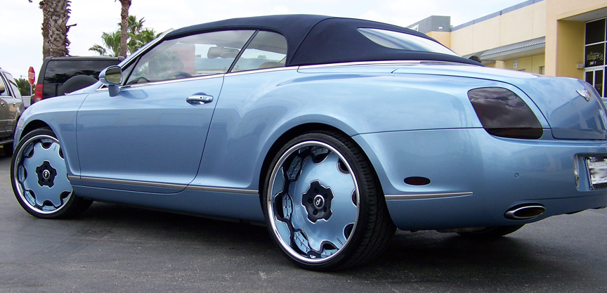 Marc Bentley Wallpapers Celebrity Carz Blog Archive Marcus Banks Baby Blue Bentley