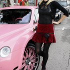 Paris Hilton's New Pink Bentley