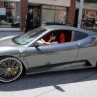 Kim Kardashian Ferrari F430