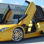 Thomas Jones Yellow Lamborghini Murcielago Lion Motoring