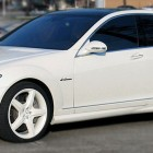 Lebron James Car White S63 Mercedes