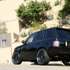 Kim Kardashian 2010 Range Rover Black