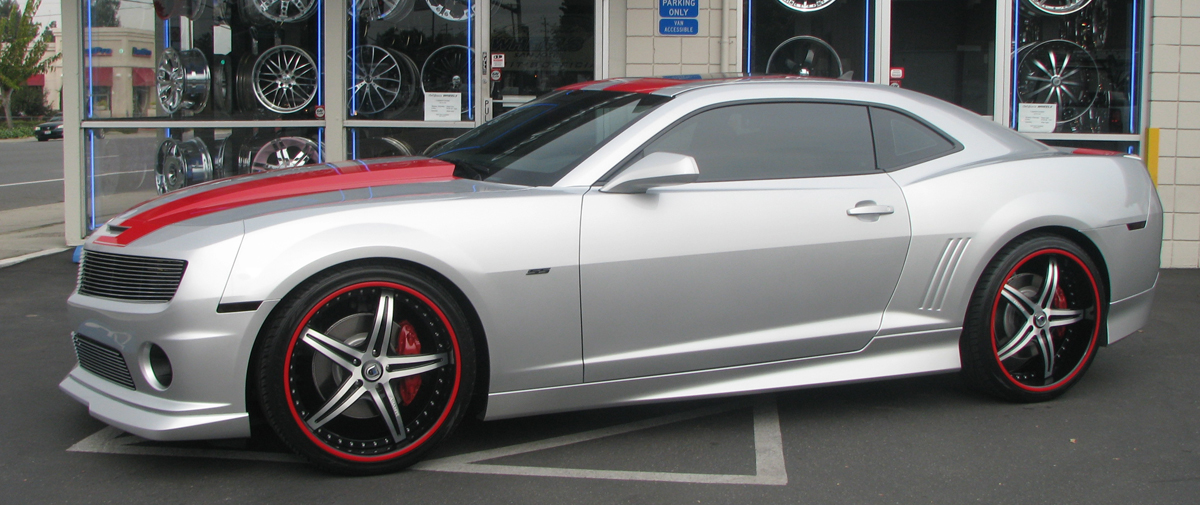 Nate Clements 2010 Silver Camaro Ss Celebrity Carz