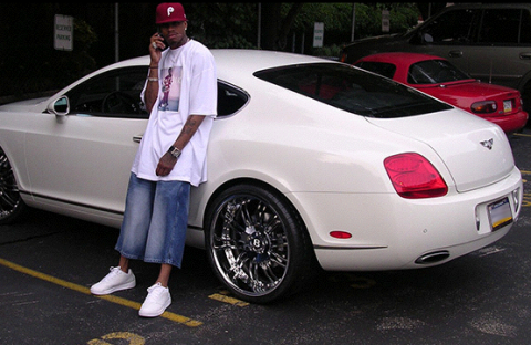 allen iverson white bentley gt