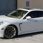 Octavio Dotel White Porsche Panamera