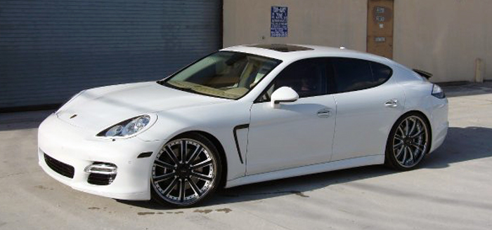 this is octavio dotels white porsche panamera staggered on 22 vellano 3 piece wheels for those of you who do not know who octavio dotel is