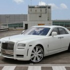 Francisco Cordero White Rolls Royce Ghost