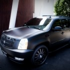 Tony Parker Car Flat Black Escalade