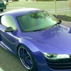 Brandon Phillips Purple Audi R8 Car