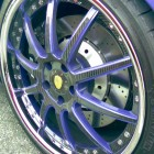 Brandon Phillips Purple Audi R8 Wheels