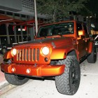 Lebron James Orange Jeep Wrangler New Car Miami Custom