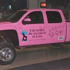 Taylor Swift's Car Pink Truck Silverado