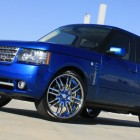 50 Cent Blue Range Rover