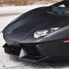 Kobe Bryant Car Flat Black Lamborghini Aventador
