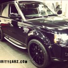 Kendall Jenner Black Range Rover