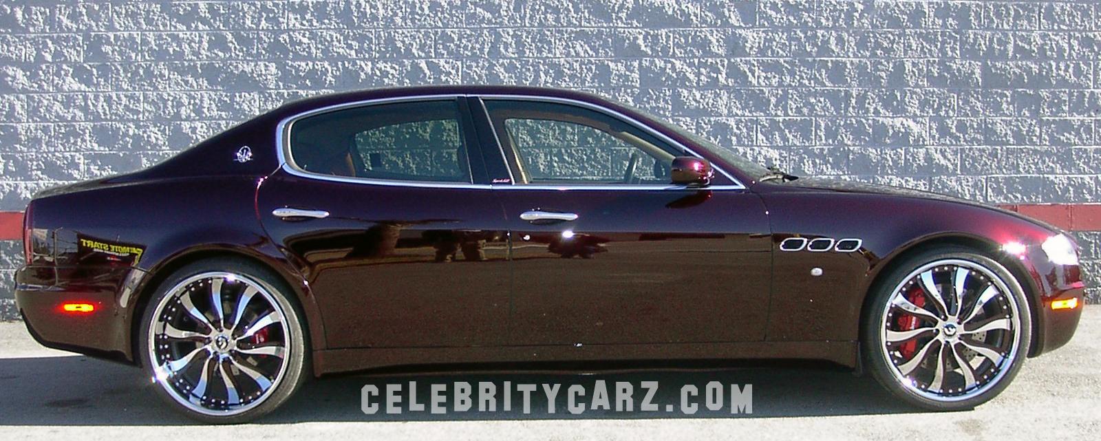 Plies | Maserati Quattroporte | Celebrity Carz
