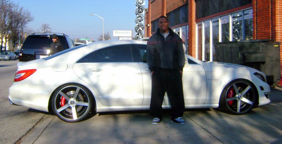photo of Ray Rice Mercedes- Benz CLS - car