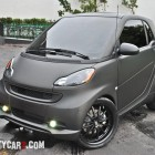 Ochocinco Smart Car Flat Black