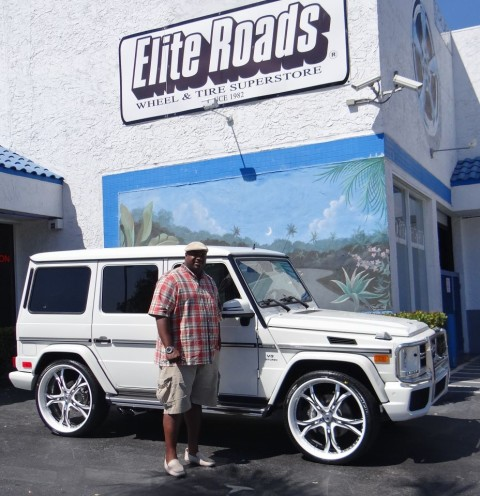 Albert Haynesworth Mercedes G63