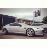 Yunel Escobar Aston Martin Rapide