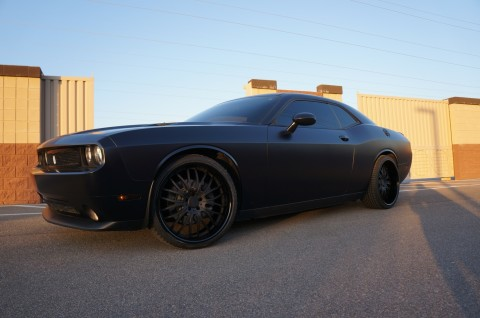 Rudy Gay's Dodge Challenger