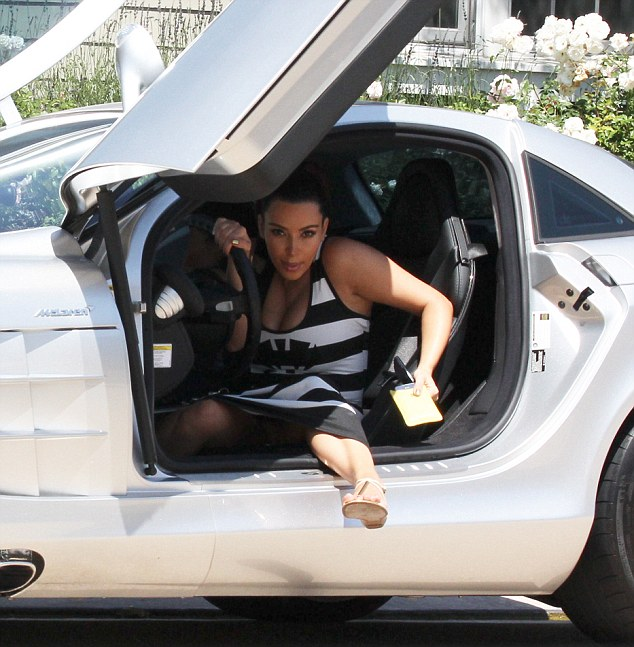 Best Kim Kardashian Celebrity Car Photos Celebrity Carz