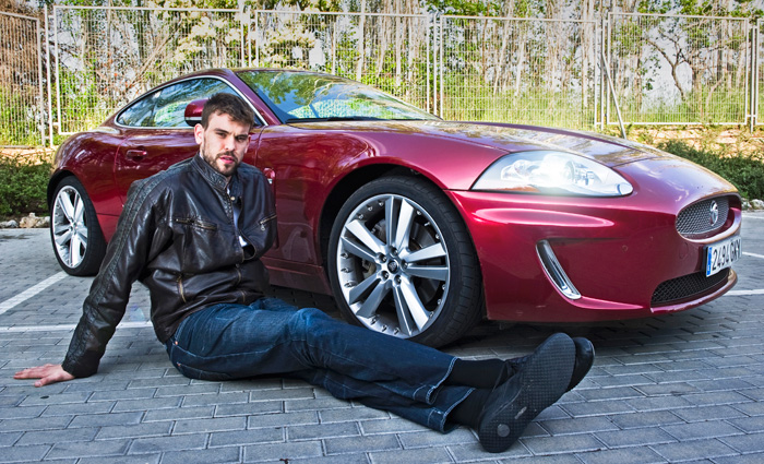 photo of Marc Gasol Jaguar XK - car