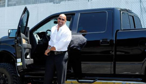 Dwayne Johnson | Ford F150
