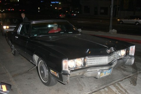 Johnny Knoxville Cadillac Eldorado