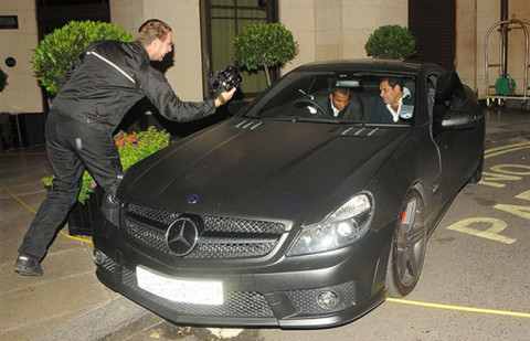 Ashley Cole | Mercedes-Benz SL63 AMG