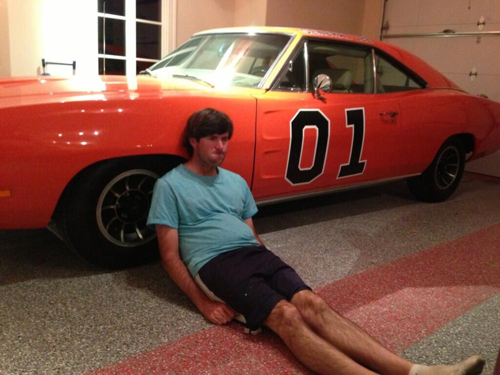 Bubba Watson 1969 Dodge Charger General Lee Celebrity Carz