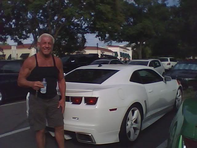 Ric Flair - Chevrolet Camaro | Celebrity Carz