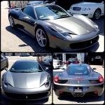Ben Baller Ferrari 458